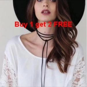 Jewelry - Simple Faux Suede Leather Choker